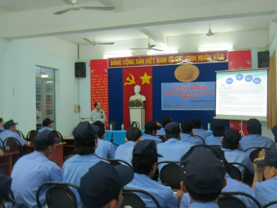 Công ty dịch vụ bảo vệ quận Tân Bình